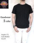 <Goodwear/グッドウェア> ポケット Tシャツ ヘビーウエイト スリムフィット メンズ 半袖 ヘビーコットン 丸首 クルーネック〔FL〕