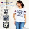 チャンピオン レディース Tシャツ 半袖 ロゴ CHAMPION #CW-H306 コットン 〔SK〕