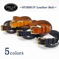 Jabez Cliff ジャベツクリフ Stirrup Leather Belt スティラップレザーベルト 28mm ブライドルレザー イギリス製 メンズ レディース