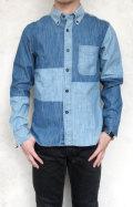 FIVE BROTHER デニムワークシャツ/クレイジーパターン BDシャツ