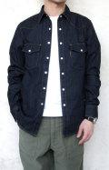 H.R.MARKET ST2009 シャープフィット デニムウエスタン L/Sシャツ