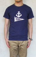 BLUE BLUE NT190 1967FLAG ANCHOR Tシャツ メンズ