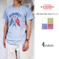 H.R.MARKET ハリウッドランチマーケット HT300 ONE AND ONLY FLAG Tシャツ