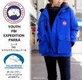 カナダグース レディース PBI エクスペディション パーカ CANADA GOOSE YOUTH PBI EXPEDITION PARKA #4565YPB レディース ダウンジャケット〔SF〕