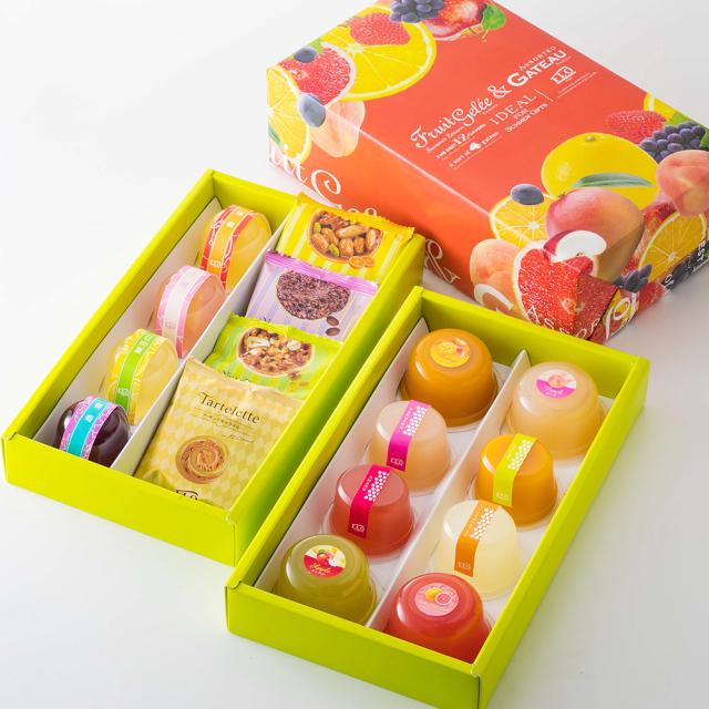 20193種ジュレ焼き菓子