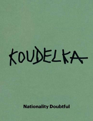 【古本】ジョセフ・クーデルカ写真集: JOSEF KOUDELKA: NATIONALITY DOUBTFUL