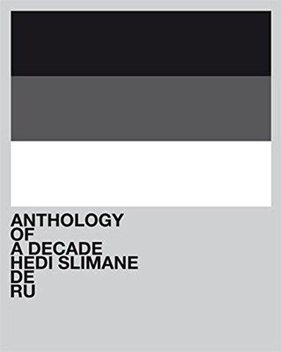 【古本】エディ・スリマン写真集: HEDI SLIMANE: ANTHOLOGY OF A DECADE/DE/RU【イタミ有り】