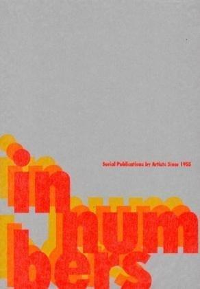 【古本】IN NUMBERS: Serial Publications by Artists Since 1955