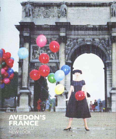 【SALE】リチャード・アヴェドン写真集: RICHARD AVEDON: AVEDON'S FRANCE: OLD WORLD, NEW LOOK