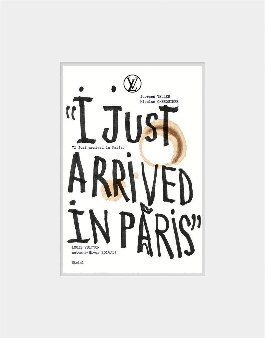 ユルゲン・テラー写真集: JUERGEN TELLER & NICOLAS GHESQUIERE: I JUST ARRIVED IN PARIS