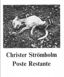 クリステル・ストレームホルム写真集: CHRISTER STROMHOLM: POSTE RESTANTE【フランス語版】