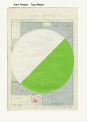 カレル・マルテンス作品集: KAREL MARTENS: TOKYO PAPERS