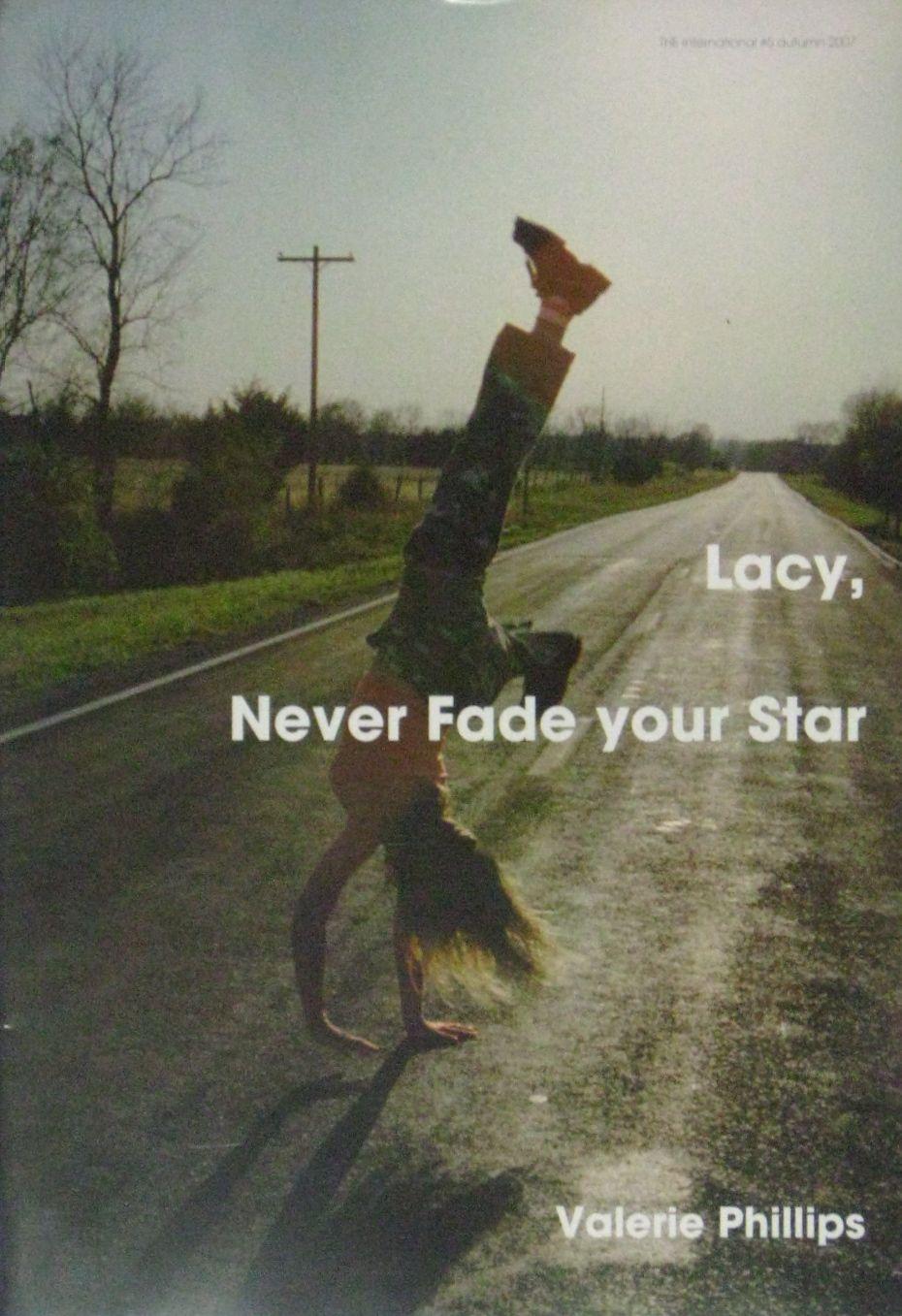 【古本】THE INTERNATIONAL #5: LACY, NEVER FADE YOUR STAR BY VALERIE PHILLIPS