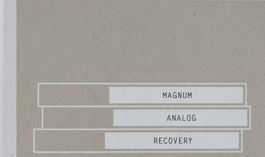 マグナム・フォト展カタログ : MAGNUM ANALOG RECOVERY