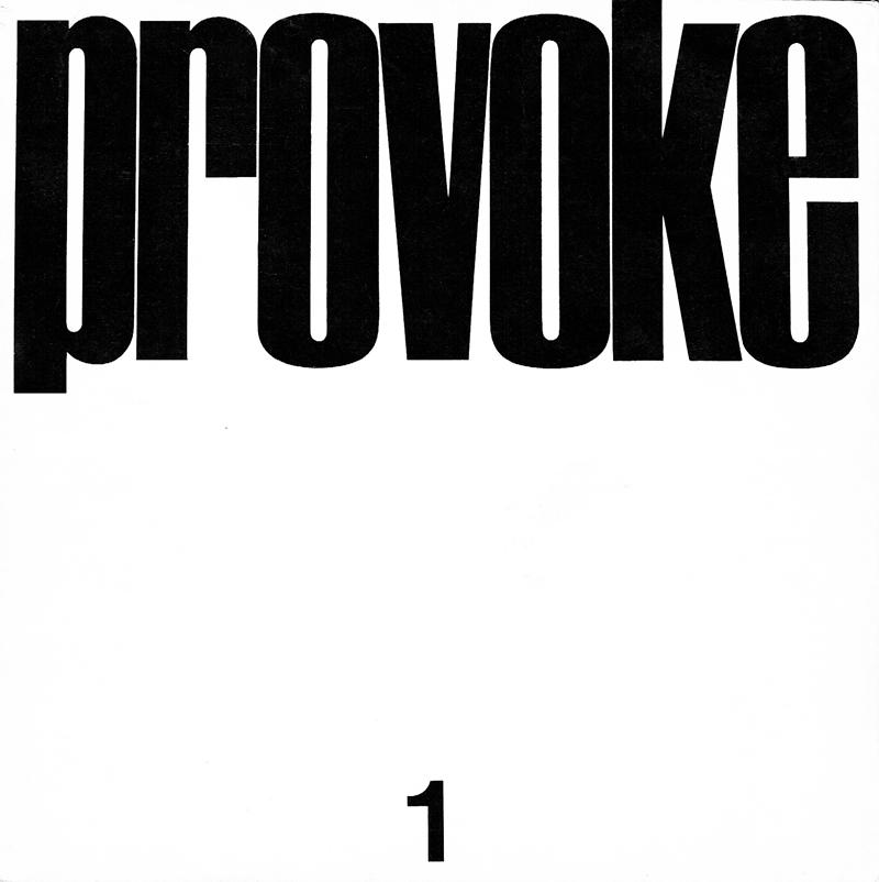 【復刻版】プロヴォーク: PROVOKE
