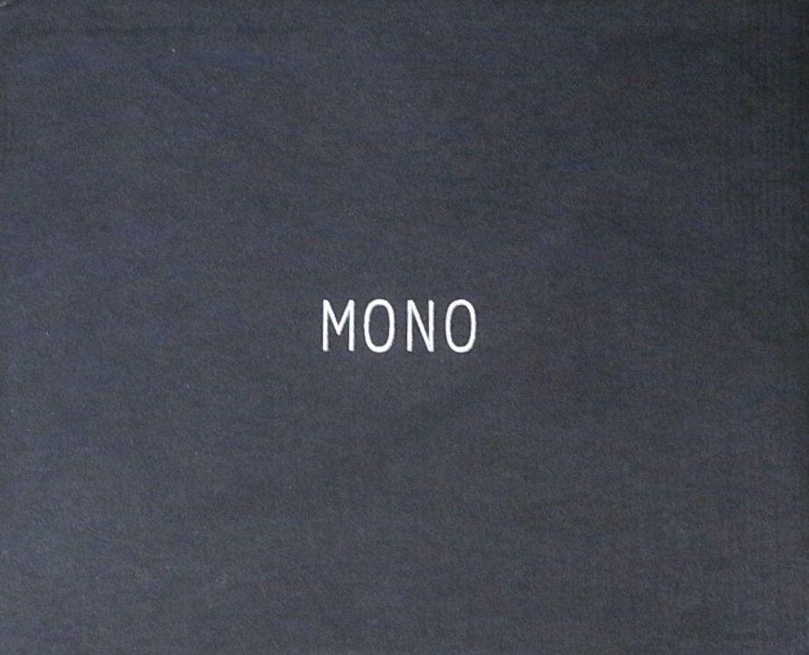 【古本】MONO : VOLUME ONE