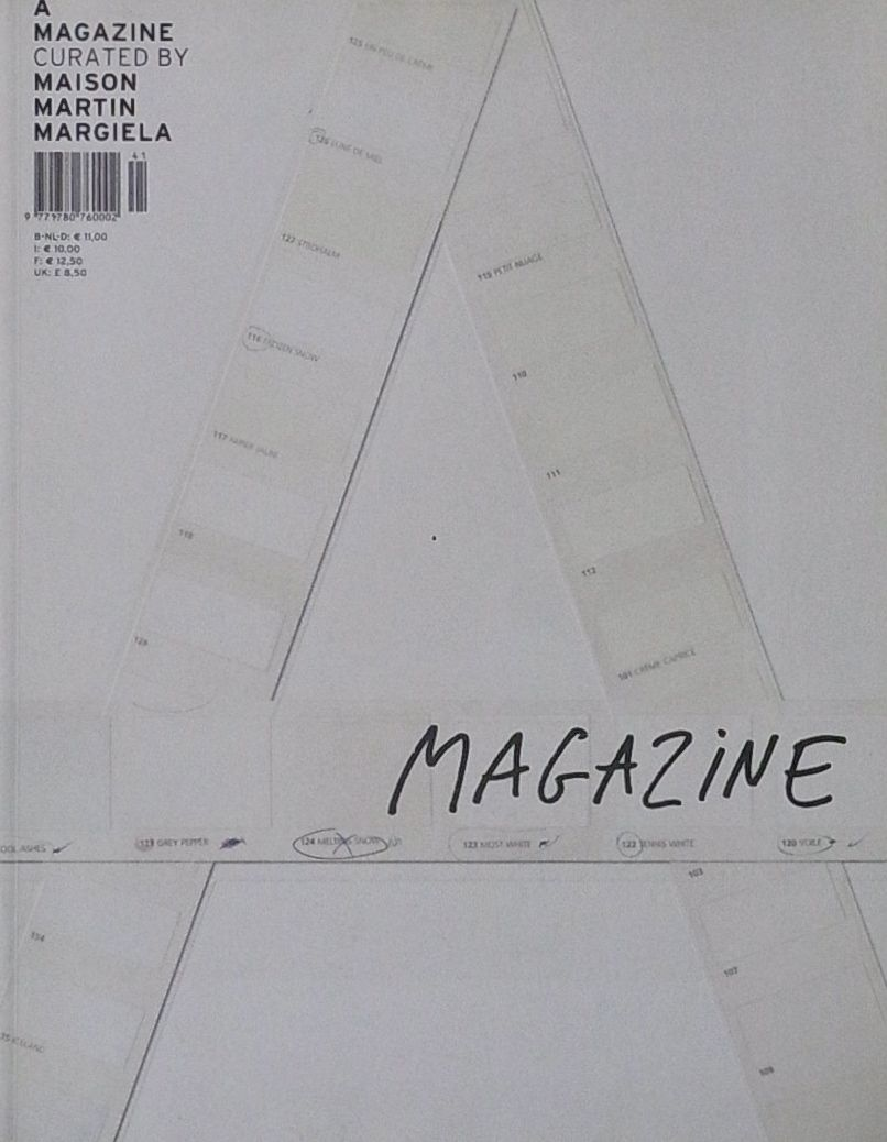 【古本】A MAGAZINE #1 CURATED BY MAISON MARTIN MARGIELA : マルタン・マルジェラ