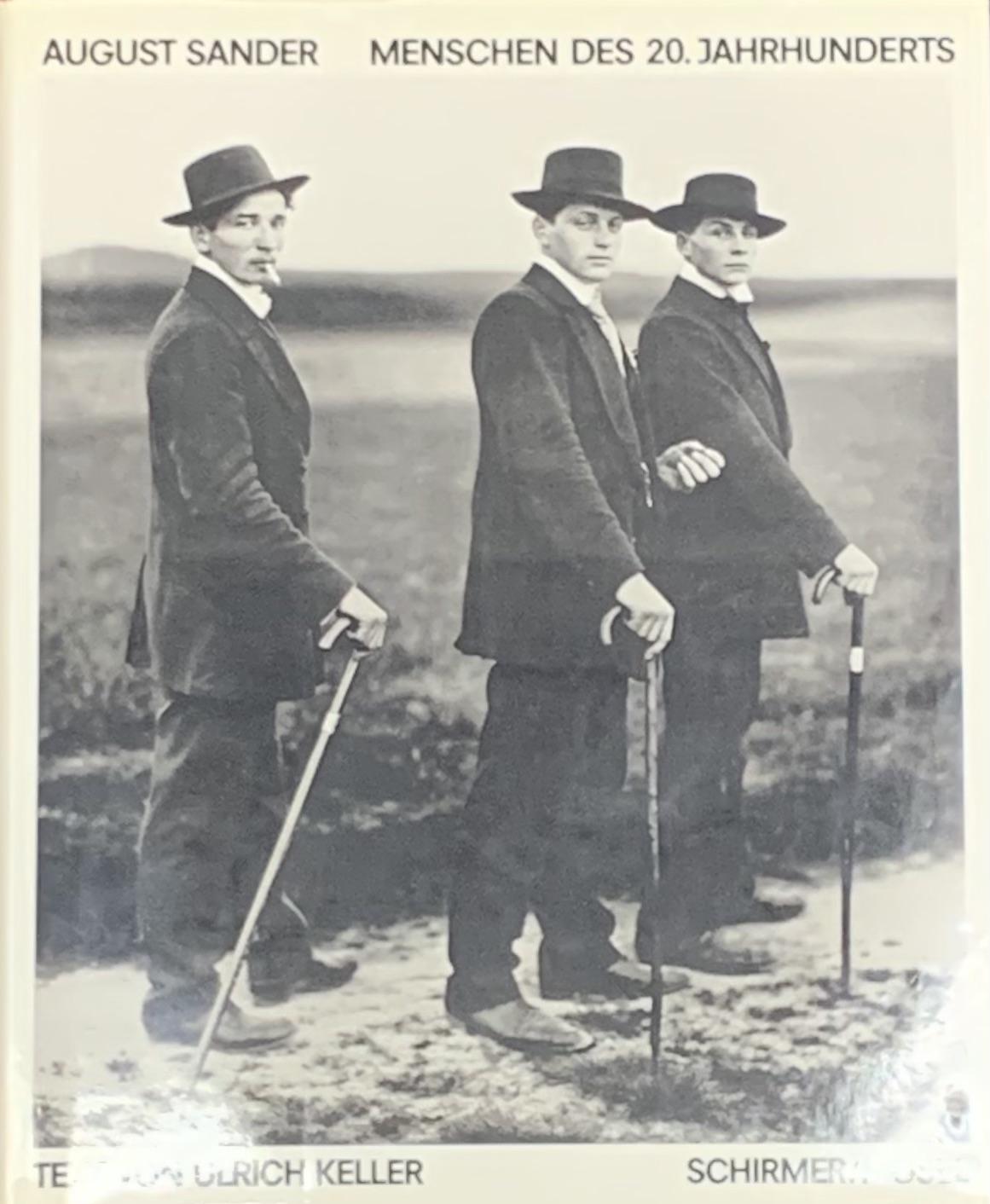 【古本】アウグスト・ザンダー写真集: AUGUST SANDER: MENSCHEN DES 20. JAHRHUNDERTS: PORTRAITPHOTOGRAPHIEN VON 1892-1952