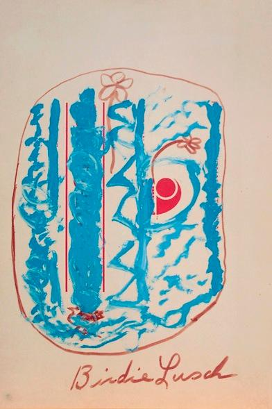 【古本】バーディー・ラッシュ作品集: BIRDIE LUSCH: COLLAGES, May-June 1973