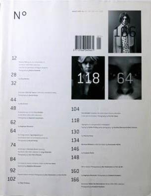 【古本】NO.A MAGAZINE NO. 1, AUGUST 2000 Dirk Van Saene