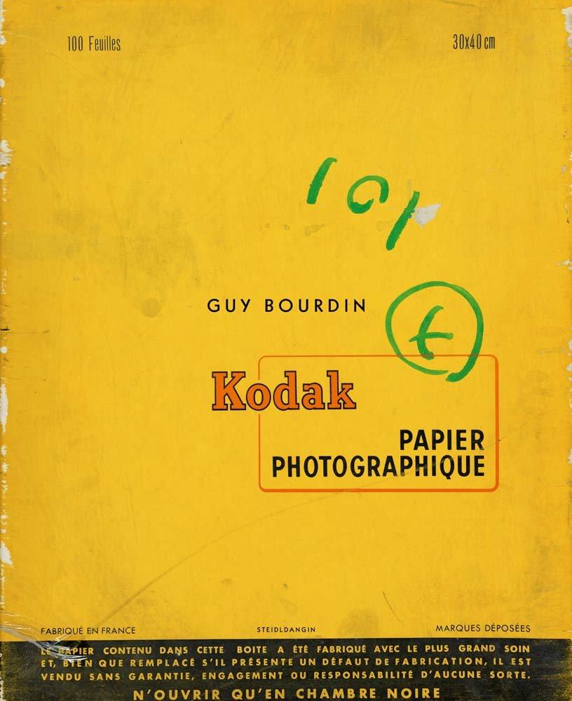 ギイ・ブルダン写真集: GUY BOURDIN: UNTOUCHED 【フランス語版】