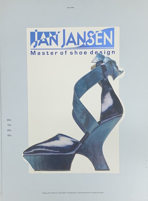 【古本】ヤン・ヤンセン作品集: JAN JANSEN: MASTER OF SHOE DESIGN