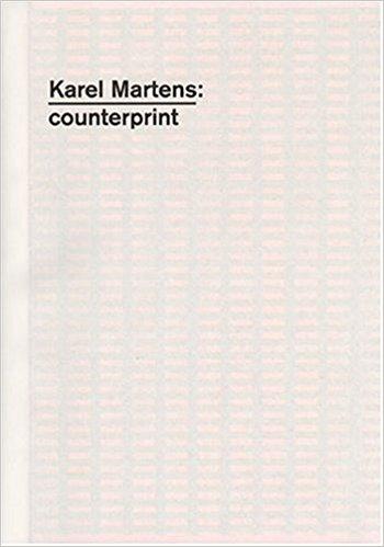 【古本】カレル・マルテンス作品集 : KAREL MARTENS: COUNTERPRINT