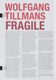 【古本】ヴォルフガング・ティルマンス写真集: WOLFGANG TILLMANS: FRAGILE