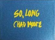 【古本】チャド・ムーア: ポストカードセット: CHAD MOORE: SO, LONG