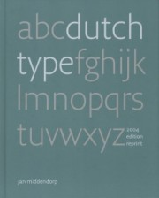 DUTCH TYPE (REPRINT)