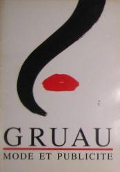 GRUAU MODE ET PUBLICITE ルネ・グリュオー作品集