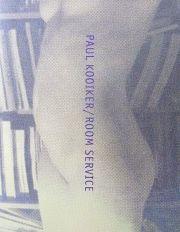 【古本】ポール・コイカー写真集: PAUL KOOIKER: ROOM SERVICE