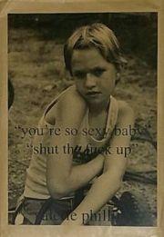 """【古本】ヴァレリー・フィリップス ジン : VALERIE PHILLIPS """"YOU'RE SO SEX BABY"""" """"SHUT THE FUCK UP"""""""
