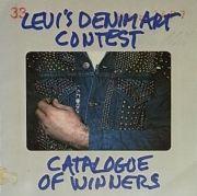 【古本】LEVI'S DENIM ART CONTEST : CATALOGUE OF WINNERS