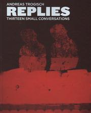 アンドレアス・トロギッシュ写真集 : ANDREAS TROGISCH : REPLIES - THIRTEEN SMALL CONVERSATIONS
