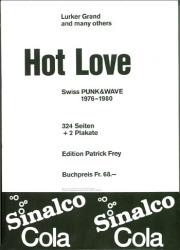 【古本】HOT LOVE : SWISS PUNK&WAVE 1976-1980【2nd edition】