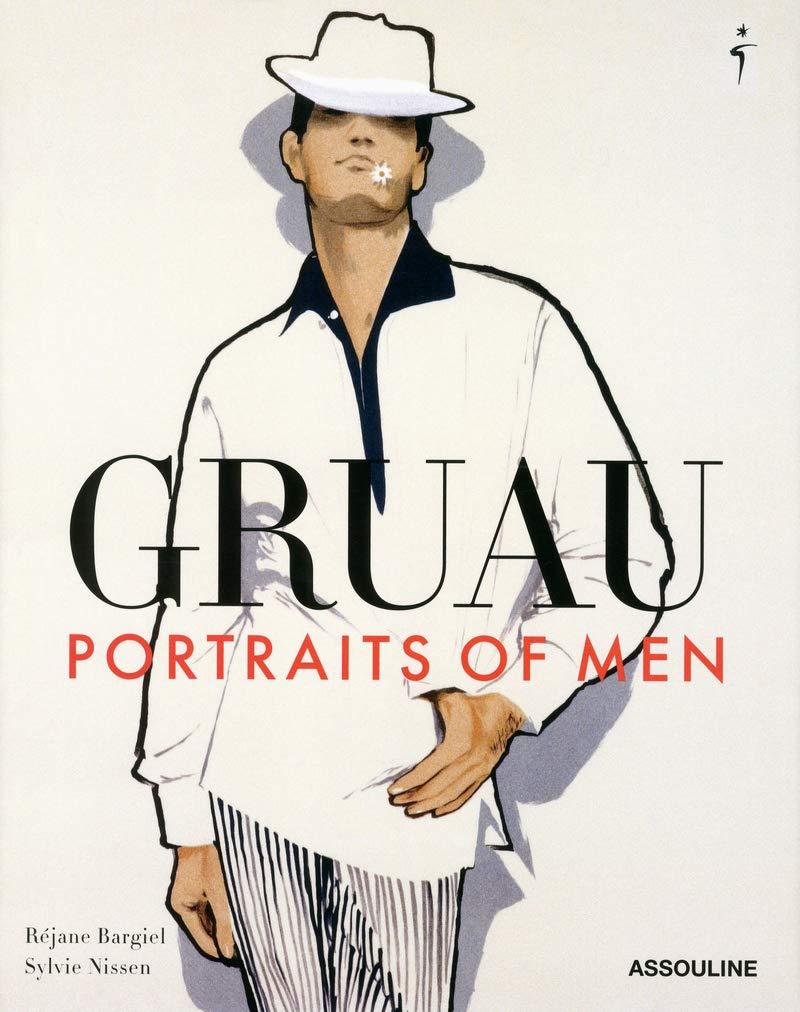 【古本】ルネ・グリュオ作品集: RENE GRUAU: PORTRAITS OF MEN