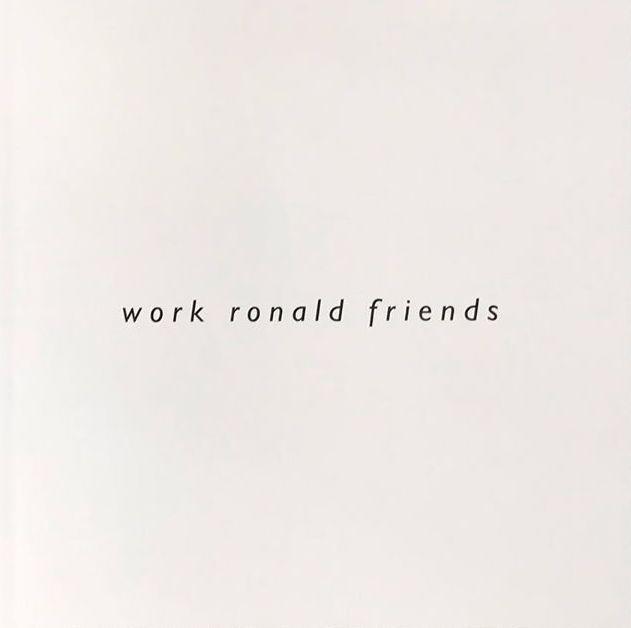 ロナルド・ストゥープ写真集: RONALD STOOPS: WORK RONALD FRIENDS