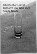 CHRISTOPHER LG HILL : DISSOLVE BLUR GAP BLUE GRAPE SPACE