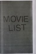 DASH SNOW : MOVIE LIST