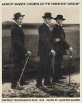 【古本】アウグスト・ザンダー写真集 : AUGUST SANDER : CITIZENS OF THE TWENTIETH CENTURY