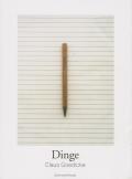 クラウス・ゲディケ写真集: CLAUS GOEDICKE: DINGE