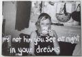【古本】ヴァレリー・フィリップス写真集 : VALERIE PHILLIPS : IT'S NOT HIM YOU SEE AT NIGHT IN YOUR DREAMS