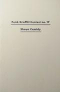 【古本】PUNK MAGAZINE : PUNK GRAFFITI CONTEST NO.17  SHAUN CASSIDY
