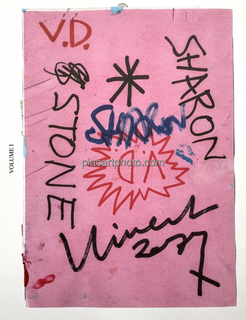 【サイン入】ヴィンセント・デルブロック写真集: V.D.: VINCENT DELBROUCK: SHARON STONE: LA VIE DES ANIMAUX - VOL.1