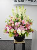 入社式壇上花