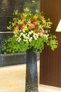 新宿 移転祝いスタンド花