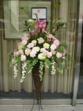 開業祝いスタンド花 新宿花屋 フラワーショップアイビー