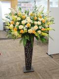 事務所開設祝いスタンド花