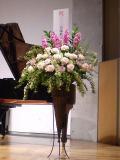公演祝い スタンド花 ステージ装花 新宿 フラワーショップアイビー